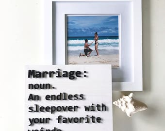 Marriage Definition Sign