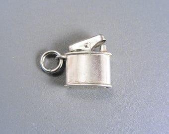 Vintage Sterling Cigarette Lighter Charm