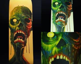 Custom Painted Skateboard