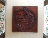 Sleigh Ride Wood Carving,...