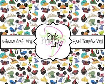 Disney Inspired Craft Vinyl and Heat Transfer Vinyl Pattern Disney 4