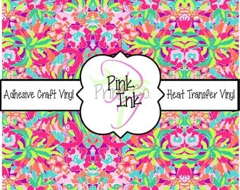 Beautiful Patterned Craft Vinyl and Heat Transfer Vinyl Pattern 53