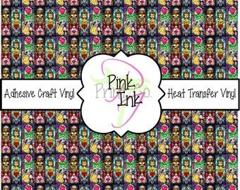 Disney Inspired Craft Vinyl and Heat Transfer Vinyl Pattern Disney 24