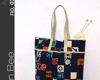 Sale The Market Bag Pattern by Green Bee - Paper Printed Pattern