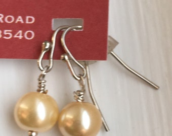 Glass pearl dangles - proceeds benefit Avela!