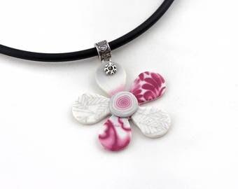 Frozen Flower Necklace