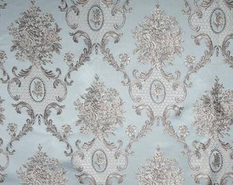 """By 3 yards-Free shipping-Jacquard fabric Brocade fabric for wedding dress- 145 cm wide/57"""""""