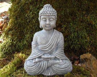 Buddha, Buddha Statue, Zen Buddha, Buddha Decor, Thai Buddha, Meditating Zen Statue, Meditating Statue, Outdoor Zen Garden