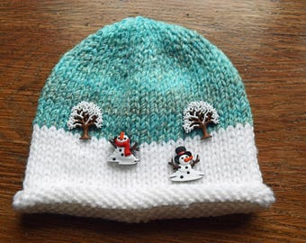 Child's character snow hat