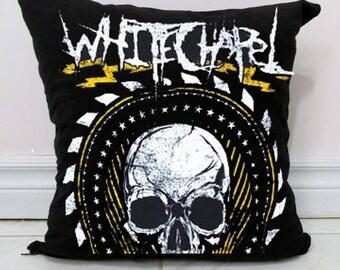 Whitechapel Pillow DIY Deathcore Decor B7 - Made to Order
