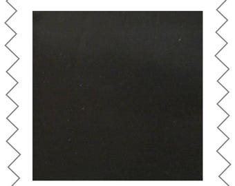 Fabric satin black 70 cm x 110 cm