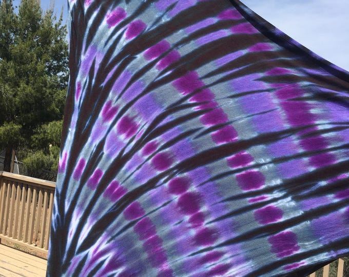 Black Purple Gray Lavender Long Maxi Skirt Tie Dye or Strapless Dress