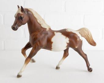 Vintage Pinto Running Mare Model Horse, #848, Running Horse Figurine