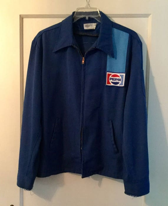 Vintage Pepsi Cola Delivery Drivers Uniform Jacket