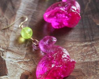 Iced age earrings