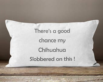 Chihuahua, Chihuahua Gifts, Chihuahua Mom, Chihuahua Art, Taco Bell Dog, Dog Mom, Dog Gifts, Custom Pet, Dog Grandma, Dog Decor,Pet Pillow