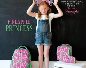Pineapple of My Eye  - Backpack/Lunch Box/Pencil Case/Hair Bow/Lanyard/ID Case