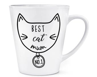 Best Cat Mum 12oz Latte Mug Cup