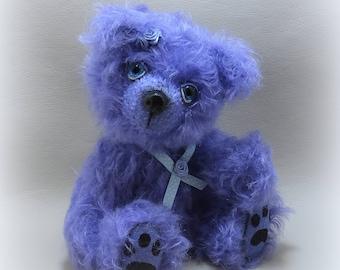 Violette artist bear mohair vintage collection 24cm