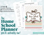 The Home School Planner You'll Actually Use! 2018-2019