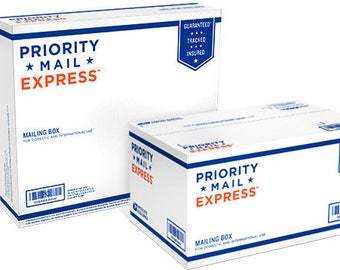 Priority Mail Express Upgrade, US Shipping Only, Holiday Upgrade