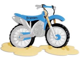 Motor Cross Riding Ornament, Dirt Bike Loving Holiday Ornament, Motor Biker  Enthusiast