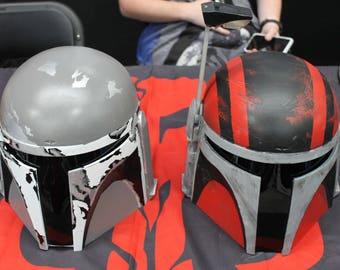 Jango Fett Style Mandalorian Helmet (The Drop Bear) - Limited BETA-II Release - Star Wars Costume Full Adult Size