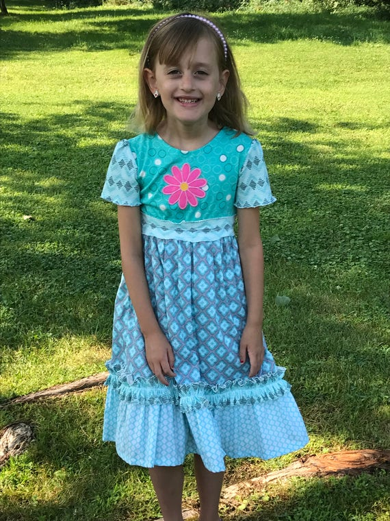 Girls dress/organic knit dress/school dress,girls knit dress/girls cotton dress/girls summer dress/girls organic clothes/toddler dress