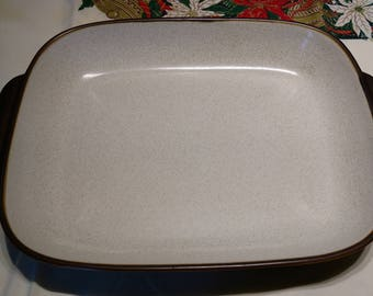 Denby Langley Russet or Den19? Pattern Lasagna/Baking Pan