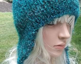 Sparkly ski hat