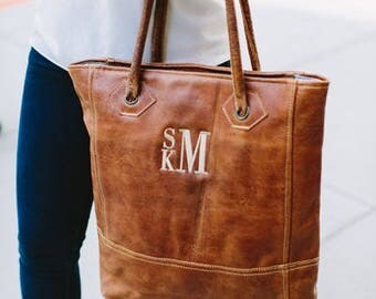 Heartstrings Personalized Rustic Tote