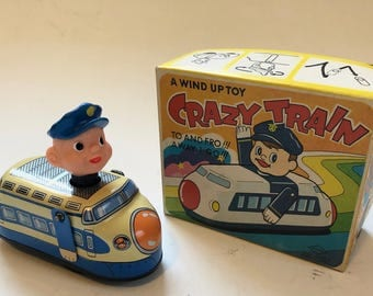Crazy Train, Japanese bullet tin wind up train