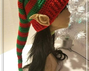 Crochet Elf Hat/Elf Hat