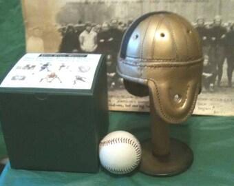 1940 Mini Army Leather Football Helmet (1/3 scale)