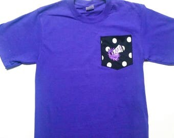 Cheer Mom Shirt -  Pocket Tees - Cheer Pocket Shirt - Customized Shirt - Embroidered Shirt - Custom Cheer Shirt - Cheer Team - Cheerleader
