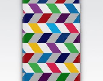 Case for iPhone 8, iPhone 6s,  iPhone 6 Plus,  iPhone 5s,  iPhone SE,  iPhone 5c,  iPhone 7 - Multicoloured Stripes Design Case