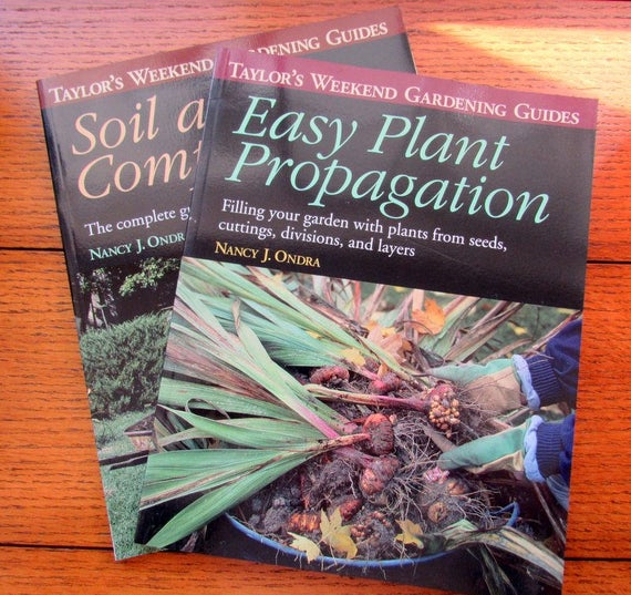 Taylor's Gardening Guides Two Books Compost and Propagation