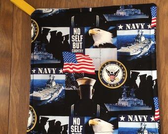 Navy Pot Holder