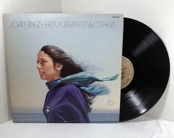 Joan Baez Hits/Greatest & Others vinyl record 1973 VG+