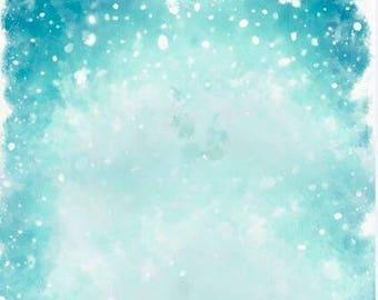 Vinyl photography backdrop,Christmas Day snowy photoshoot background,snowflake photodrops for child newborns photography XT-5884