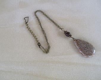 Feldspar Pendant Necklace N915172