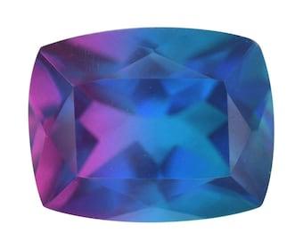Candy Quartz Triplet Cushion Cut Loose Gemstone 1A Quality 10x8mm TGW 3.00 cts.