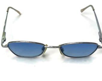 sALe 30% off 90's Blue Lens Rectangular Sunglasses