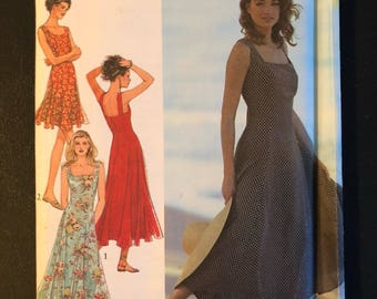 1991 Style pattern # 2081 Misses sizes 6-16 Dress, Uncut