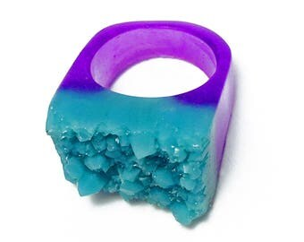 Designeers ring - ICE CLUSTERS