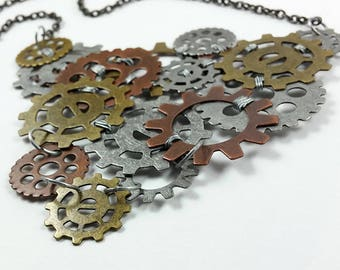 All Geared Up Necklace