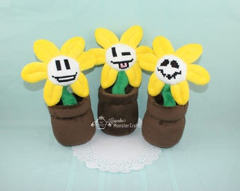 Flowey Plush from UnderTale