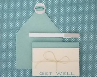 Get Well Note Cards with Envelopes