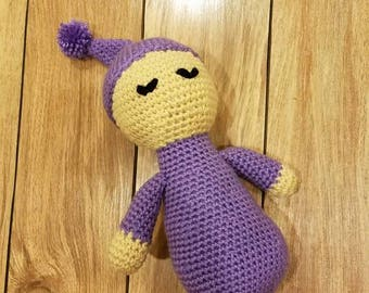Simple Crochet Baby Doll