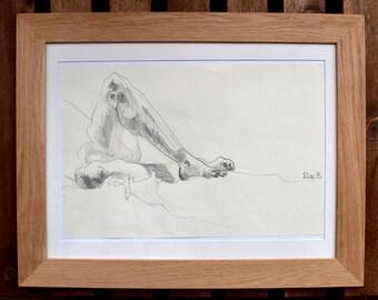 Nicolas legs in pencil